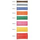 Watergolfrollers Plastic Long (75mm) - 10 stuks