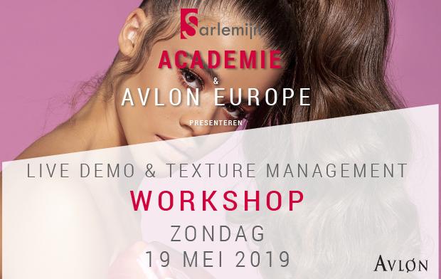 Live Demo & Texture management - Workshop Avlon 19 mei 2019