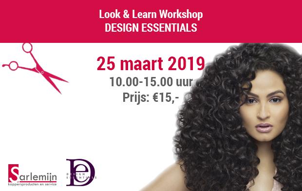 Look & Learn Workshop - DESIGN ESSENTIALS